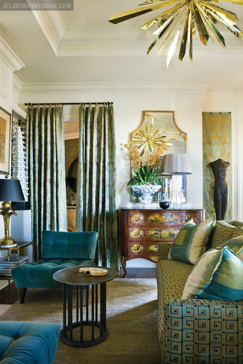 Spotted in the rosewood mansions showhouse atlanta for Wilkinson homes