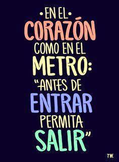 En el corazon como en el metro