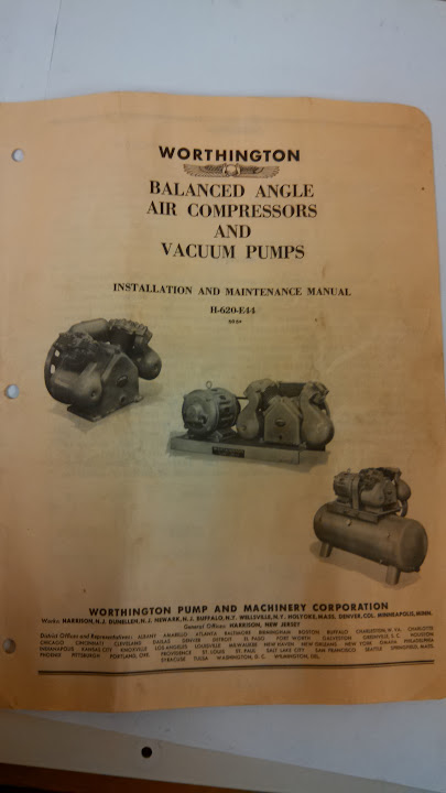 worthington air compressor need some help the garage journal board rh garagejournal com worthington air compressor parts worthington air compressor manual for 02285