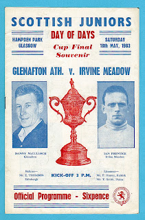 1963 Scottish Junior Cup Final Programme
