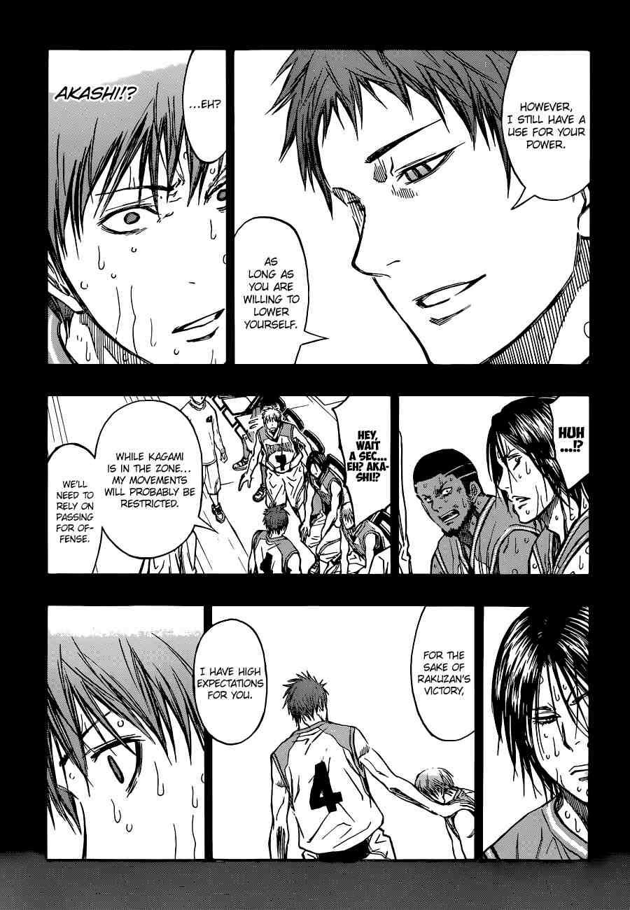 Kuroko no Basket Manga Chapter 251 - Image 15