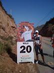 20 Mile Marker @ Big Sur Marathon