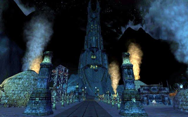 Isengard - Orthanc: la tour de Saroumane