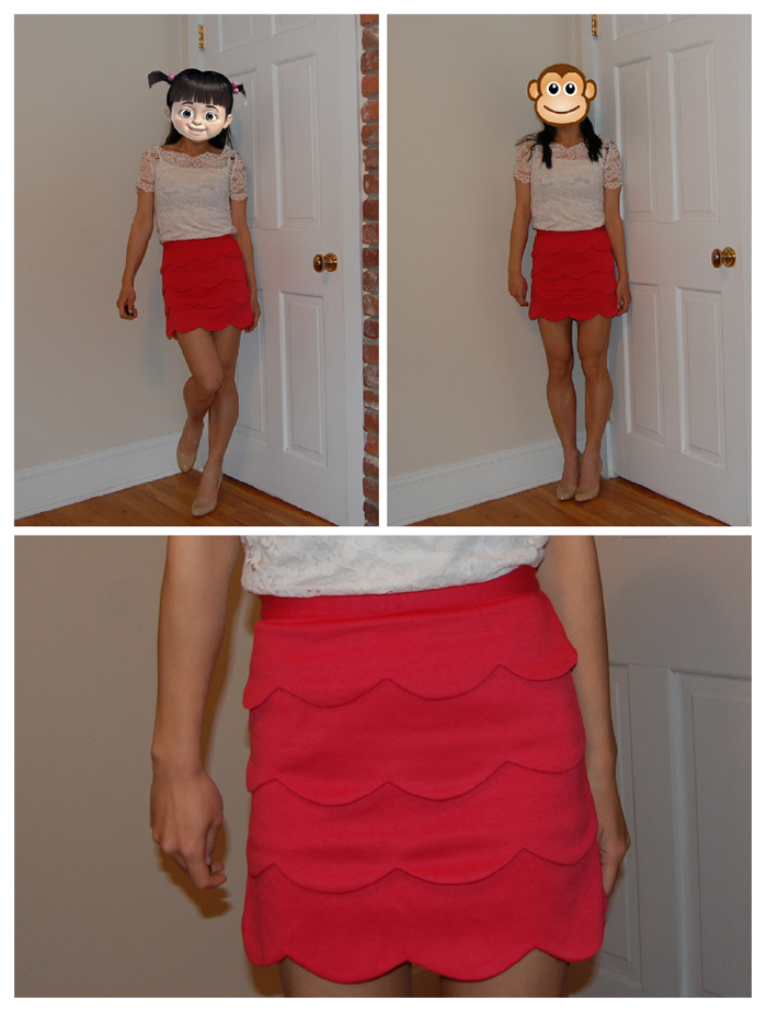 Sartorial Bucket List # 12.1 : Scalloped Skirt