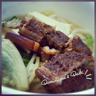 Braised Pork Noodle Soup