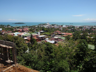 Overlooking the City of Puerto Limon