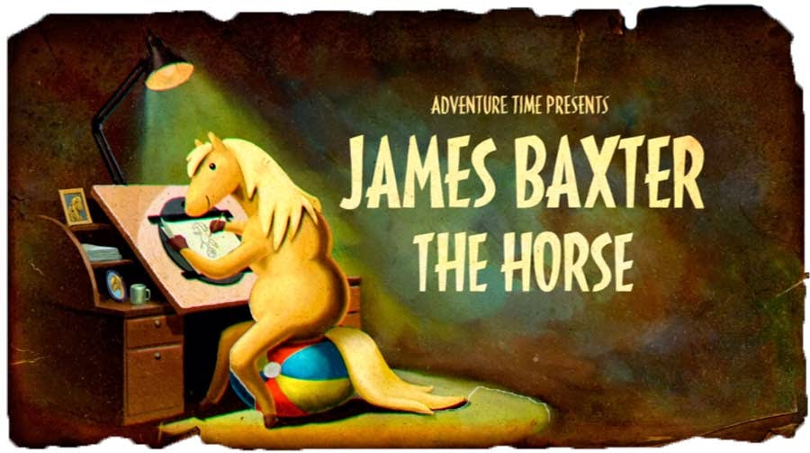 James Baxter, o Cavalo