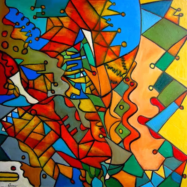 Entremedias 21, pintura de Ciriaco