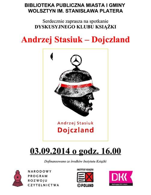 Spotkanie Dyskusyjnego Klubu Książki @ Biblioteka Publiczna w Wolsztynie
