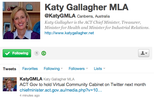 katy gallagher