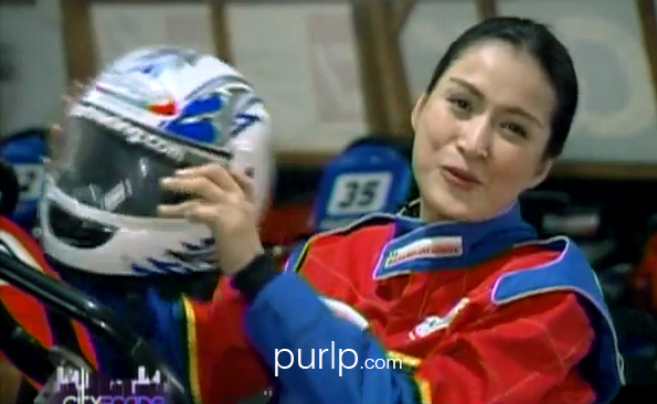 Phoemela Baranda –  Go-Kart Racing – Video