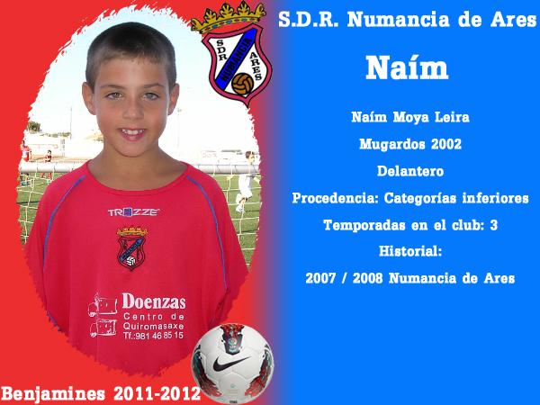 ADR Numancia de Ares. Benxamíns 2011-2012. NAIM.