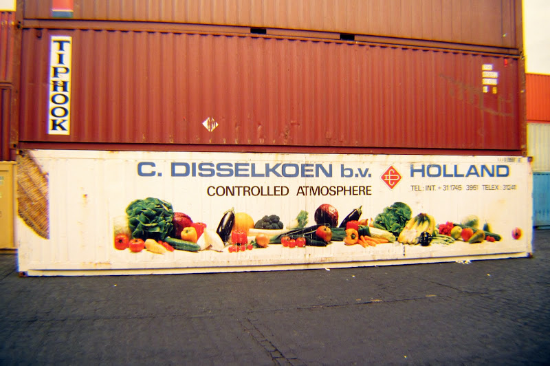 historic photo: a container with a nice theme
