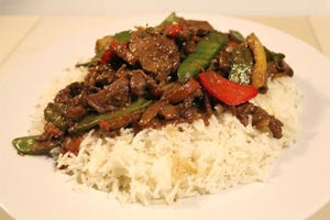 Beef Stir-Fry in Oyster Sauce