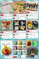 lunchbox examples from my pinterest board (Beachpebble)