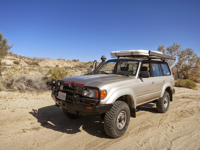 Our Anza Borrego Desert Wildflower Hunting Vehicle
