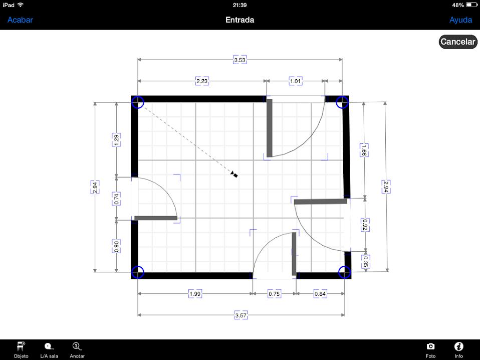 Apps de Construcción | Corregir geometría con MagicPlan