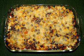Easy Tex-Mex Bake, Lightened Up