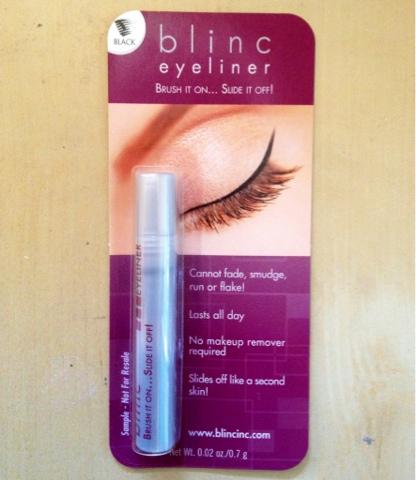 black liner liquid brush eyes review
