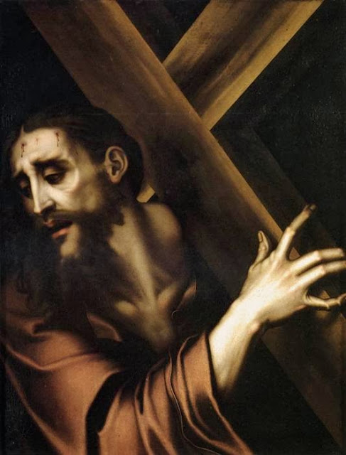 Luis de Morales - Christ Carrying the Cross