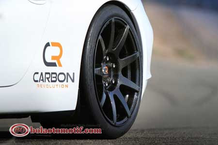porsche 911 with carbon revolution australia velg one piece