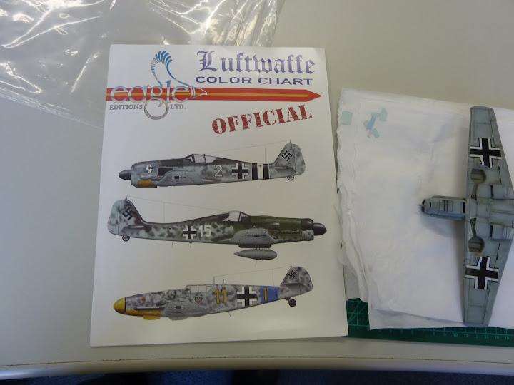 Bf-109 E-3 Tamiya 1/48 - Reforma pintura P1020525