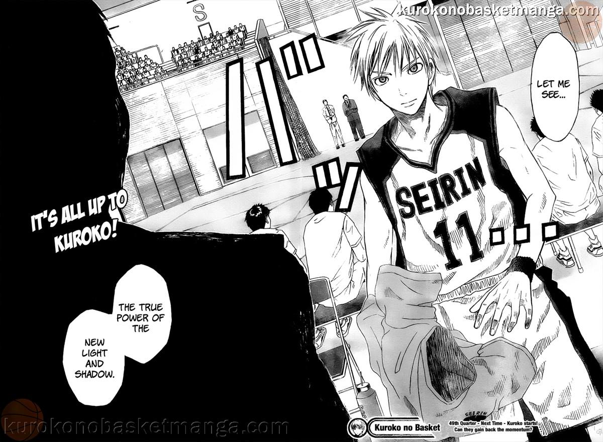 Kuroko no Basket Manga Chapter 49 - Image 18-19