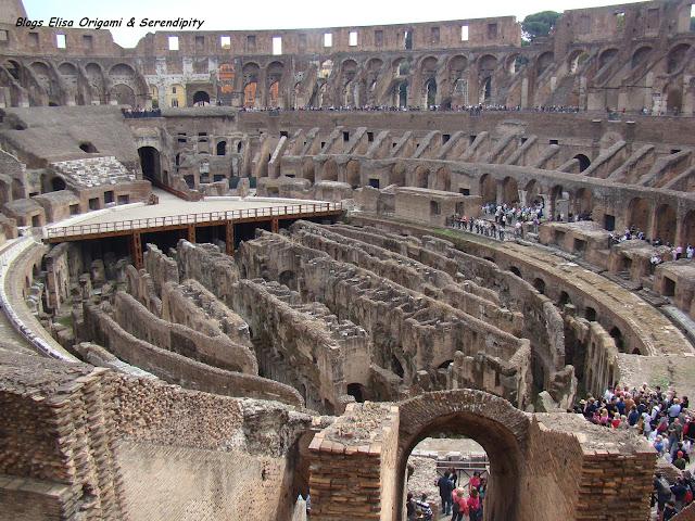 Visita al interior del Coliseo, Roma, Elisa N, Blog de Viajes, Lifestyle, Travel