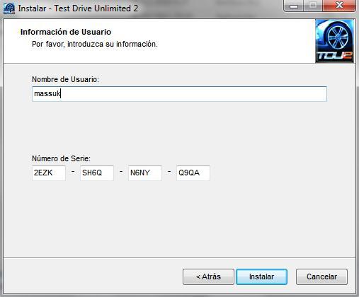 Test drive unlimited 2 crack pc passwords