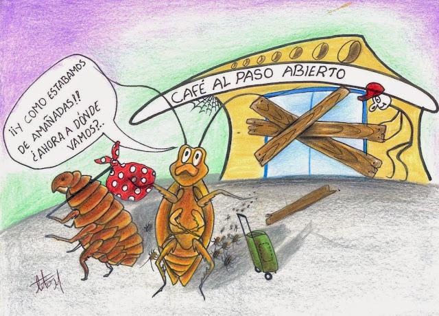 Caricatura by Tito Laurens Mejía González