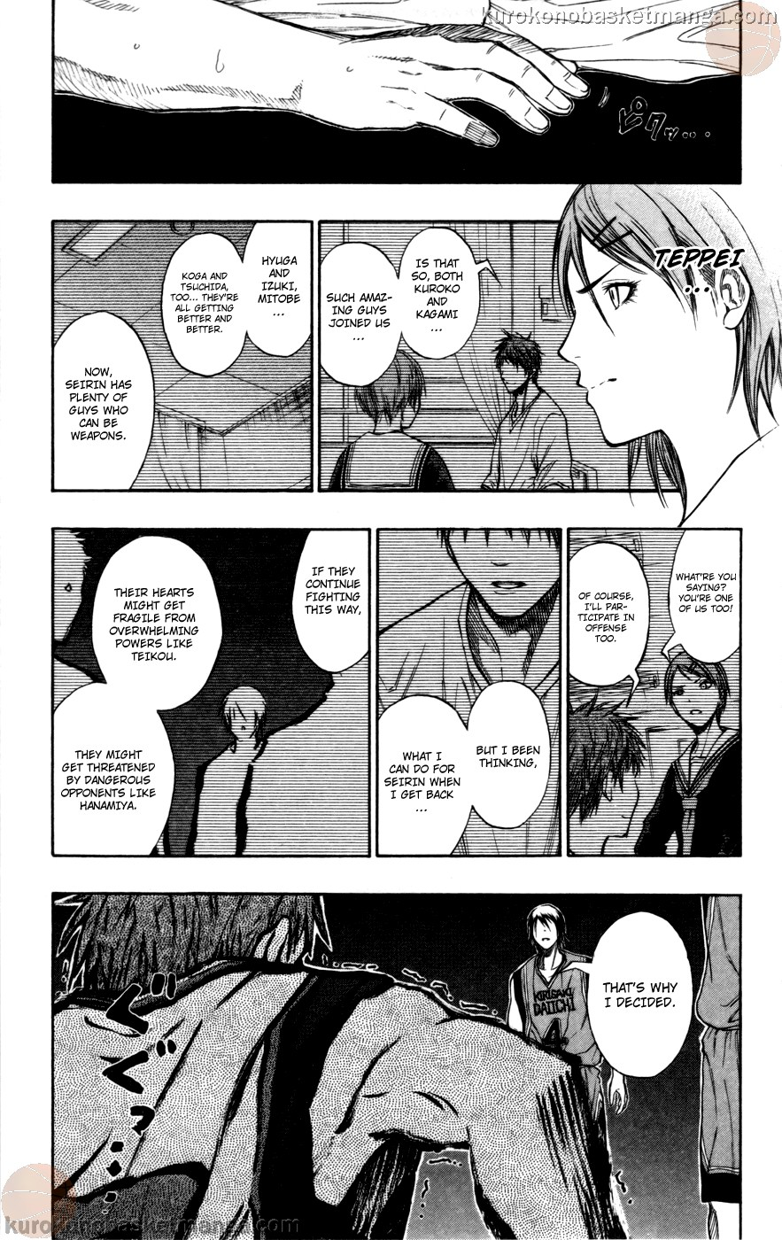Kuroko no Basket Manga Chapter 102 - Image 17