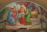 Роспись в регистратуре Иоанно-Предтеченского храма 2011