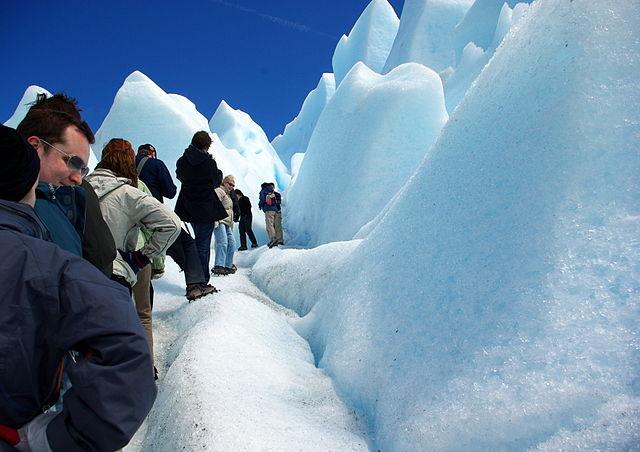 Minitrekking en el Perito Moreno