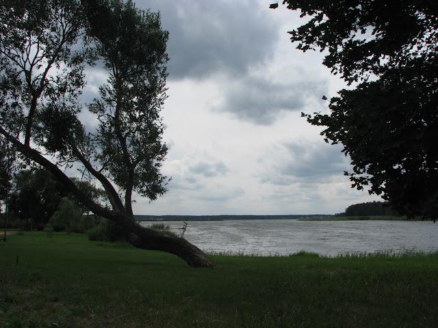 Jezero hladke v krovich stinnych