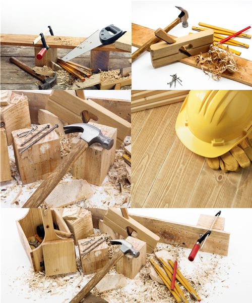 Stock Photo: Tools for building
