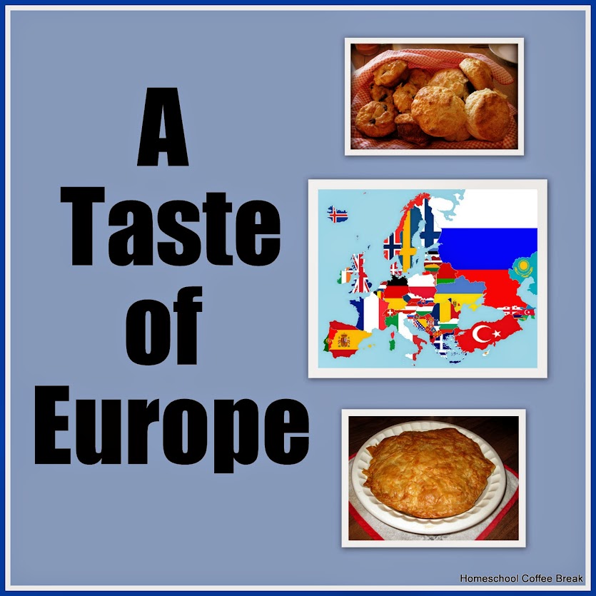 A Taste of Europe | Homeschool Coffee Break @ kympossibleblog.blogspot.com