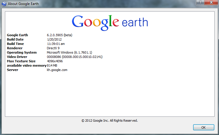 google earth 6.2