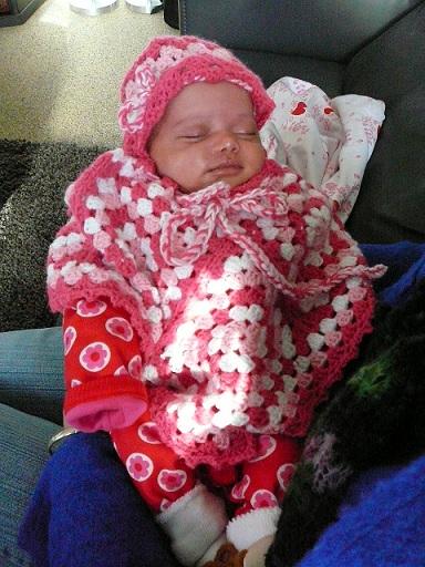 Mijn Haakblog De Poncho Van Femi