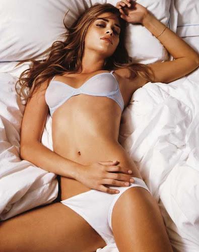 Ana Beatriz Barros, en la cama