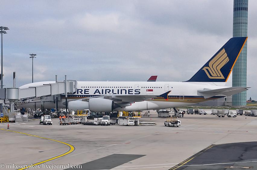 A380 в Париже