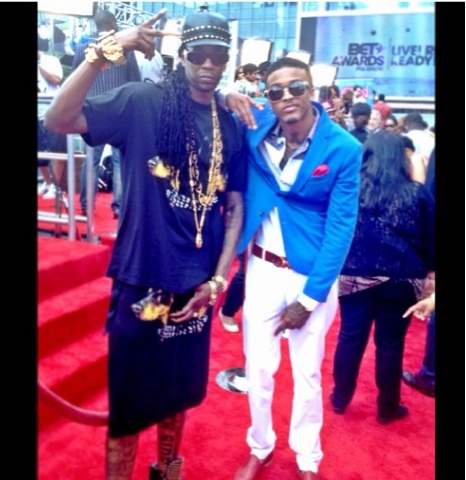 August Alsina Red Carpet