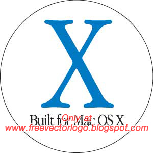 Built for Mac OS X logo vector