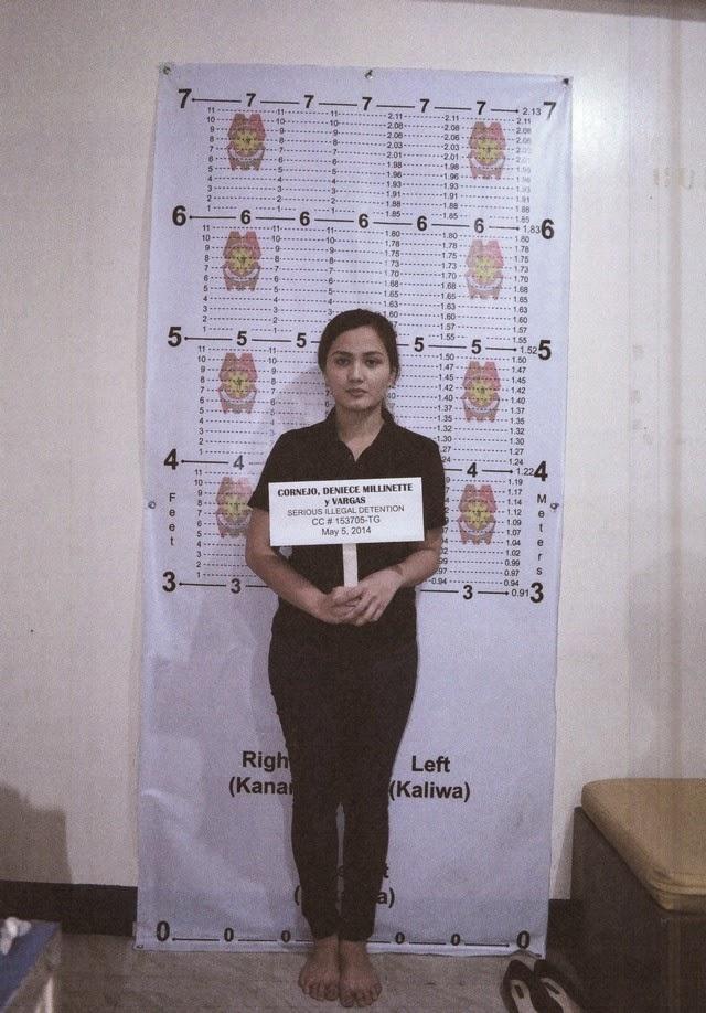 Deniece Cornejo Arrest Mugshot Photos 03-May-06-2014 Front View