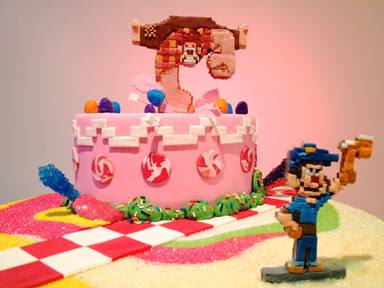 "Creative Expressions of ""Wreck-It Ralph"" Fun - Decorated Cake"