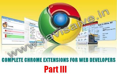 20 Google Chrome Extensions For Web Developers