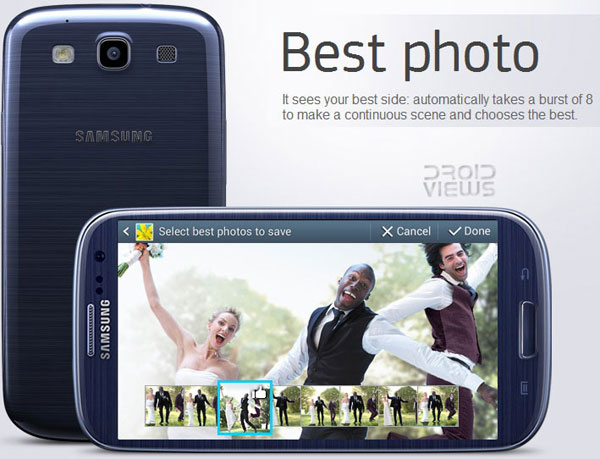 Galaxy S3 best photo feature