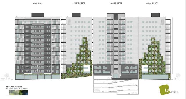 Opciones para jardín vertical en Barcelona - Opción 30 metros