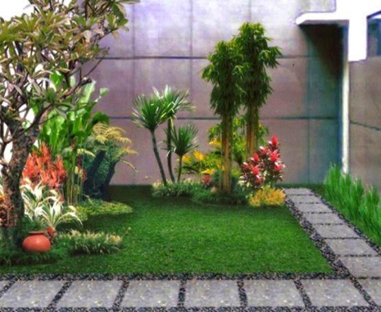 Foto taman minimalis terbaru gallery taman minimalis for Jardines pequenos esquineros