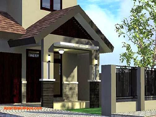 bentuk teras depan rumah minimalis design rumah minimalis
