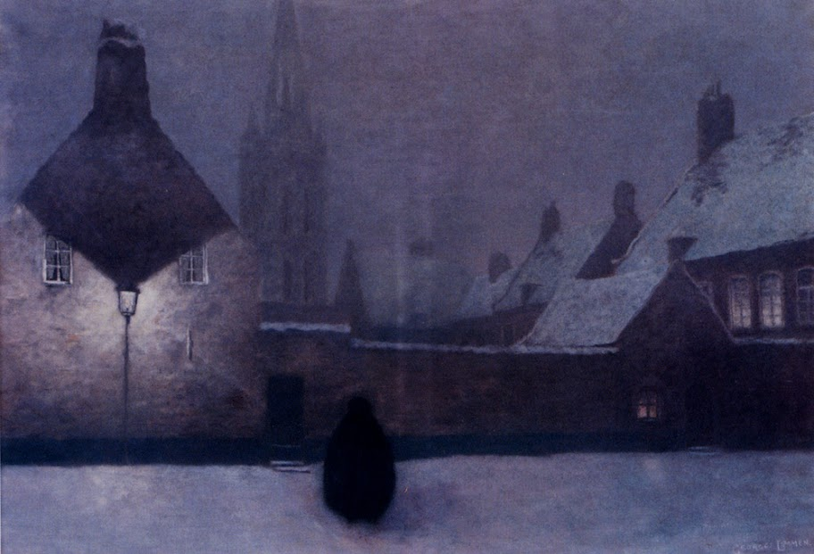 Georges Lemmen - Snowy Evening